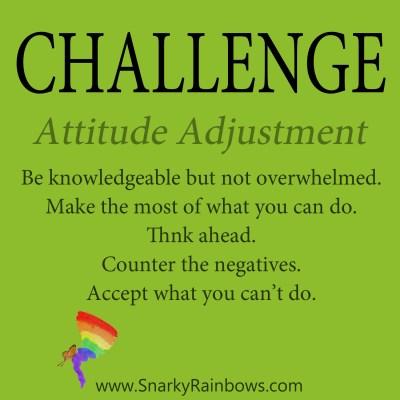 Daily Challenge - attitude adjustment