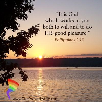 Scripture Focus - Philippians 2:13