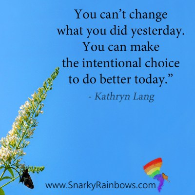 #QuoteoftheDay - intentional choice