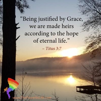 Scripture Focus - Titus 3:7
