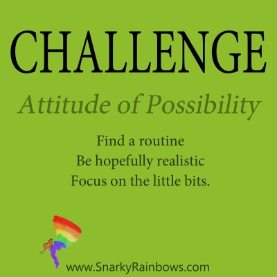 Daily Challenge - attitude of possibility