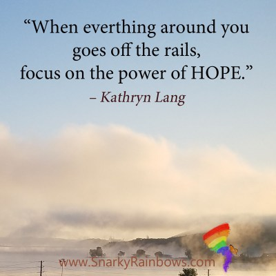 #QuoteoftheDay - little bits of hope