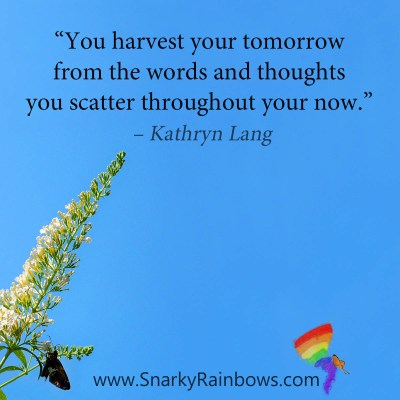 Sowing Seeds of HOPE - Quote of the Day