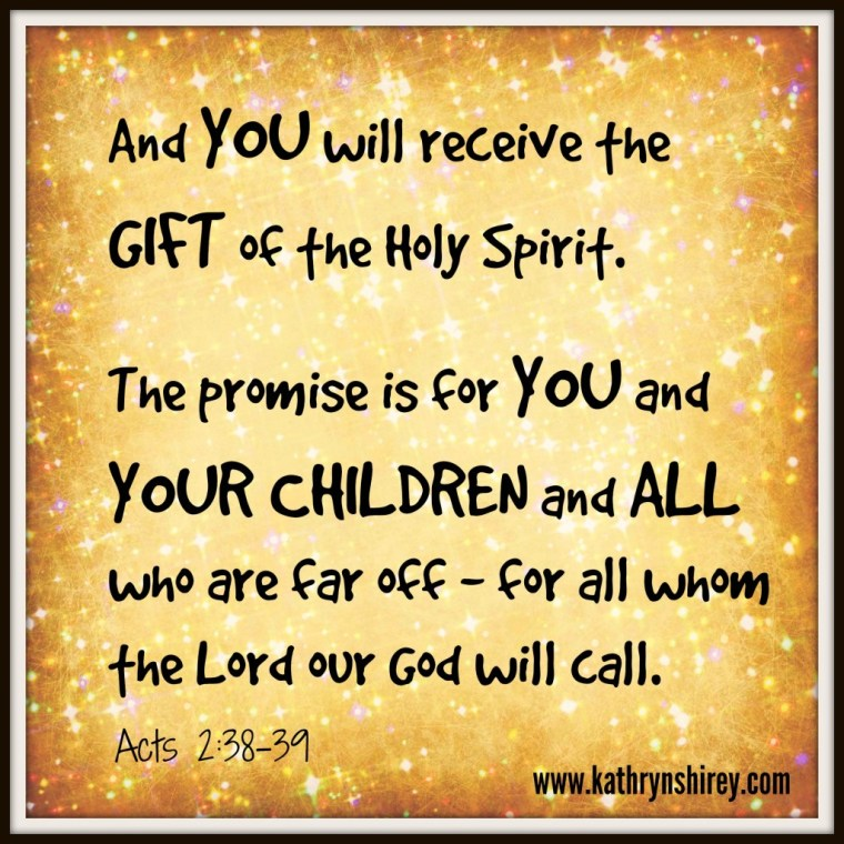 Gift of Holy Spirit