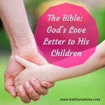 The Bible God Love Letter to Us