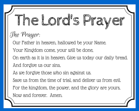 picture regarding Printable Copy of the Lord's Prayer titled 3 Methods Toward Pray the Lords Prayer With Excess Have an effect on Prayer