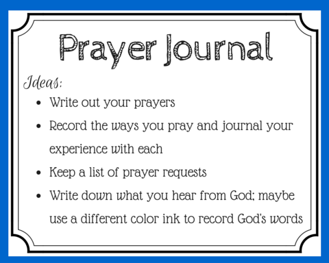 If prayers are conversations with God, then journaling prayer is like writing Him love notes. Include these 3 essential components in your prayer journal. (+ free printable prayer cards)