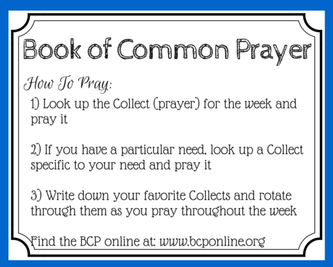 Want to add your voice to the prayers of millions each day? Or pray powerful, scripture-based prayers? Find 8 ways to pray with the Book of Common Prayer. (+free printable prayer cards)