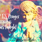 Use A.C.T.S Prayer to Pray as Jesus Taught