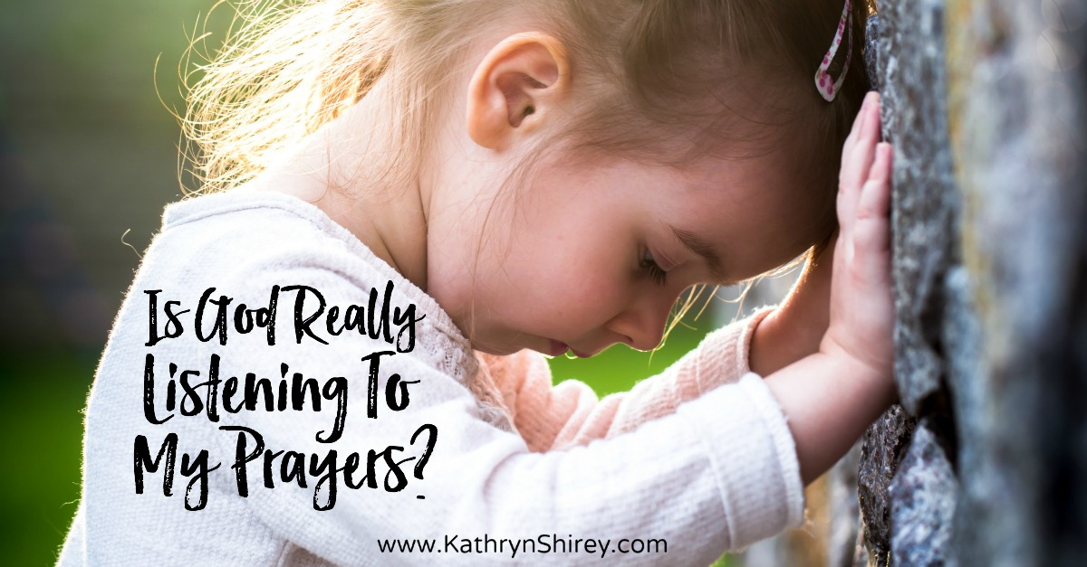 Is God really listening to my prayers? If you've ever wondered, take hope that God cares about you personally, is always listening and wants you to pray.