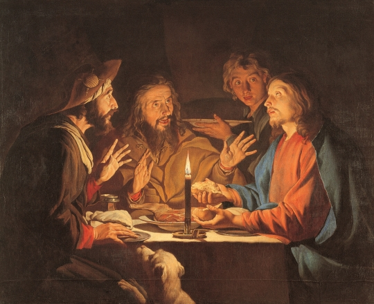 """The Road to Emmaus"" - ""The Miracle of the Catch"" - try praying through historical religious works of art"