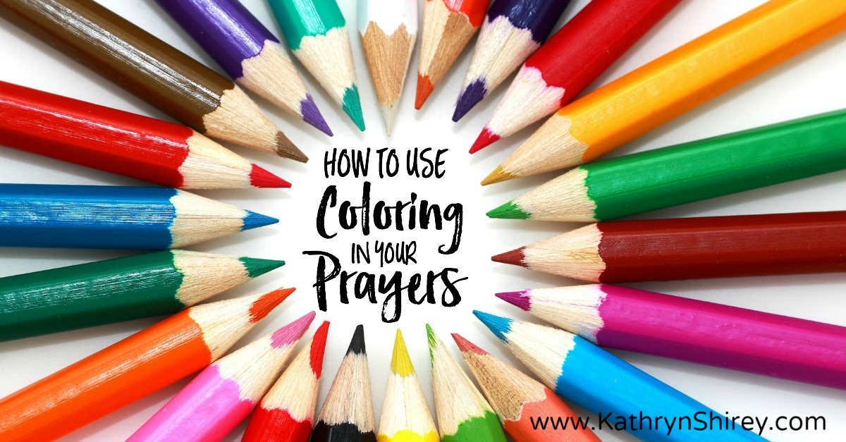 coloring as prayer