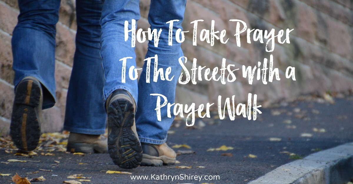 Want to put your prayer into action? Take it to the streets with a prayer walk. Fill your your neighborhood, school, church, or community with prayer.