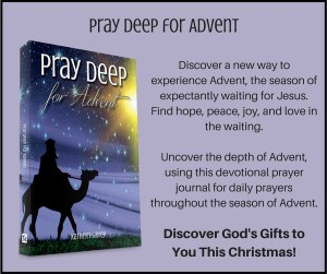 ... Pray Deep Advent Card ...