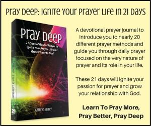 Pray Deep Card ...