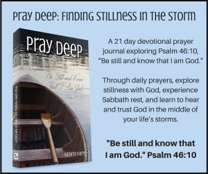Pray Deep Stillness Card