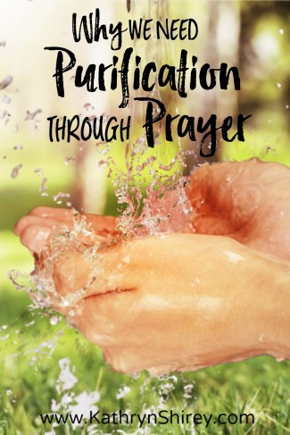When is the last time you asked God for cleansing? To wash off the world's dirt that you pick up every day? Purification prayer is a great way to stay clean.