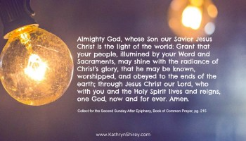 Prayer for the 1st Sunday After Epiphany: The Baptism of our