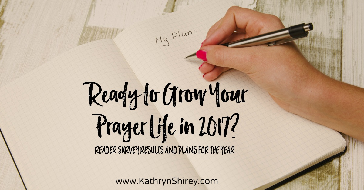 Ready to grow your prayer life in 2017? Come find out what to expect here this next year and why you'll want to be engaged in this community!
