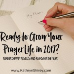Ready to Grow Your Prayer Life in 2017?