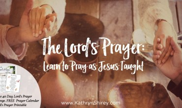 How to Pray as Jesus Taught – The Lord's Prayer