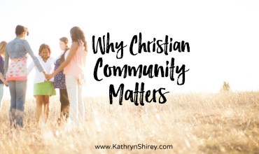 Why Christian Community Matters