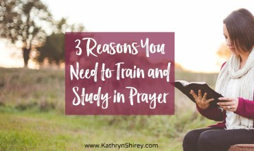 3 Reasons Prayer Needs Training and Practice