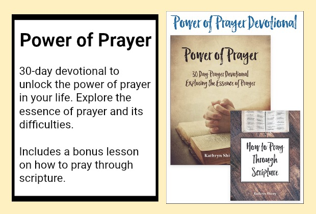 Unlock the power of prayer in your life, exploring the essence (and difficulties) of prayer through the Power of Prayer 30-day devotional.