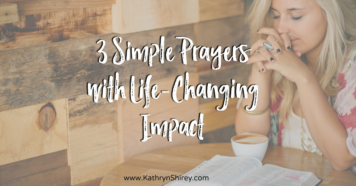 Not sure what to pray or if your prayers are good enough? Try these 3 simple prayers from Psalm 25. Though the words are few, the impact can be life-changing. If you want to see your faith deepen and experience the power of prayer, pray these simple prayers. Pray until your heart opens and releases to God.