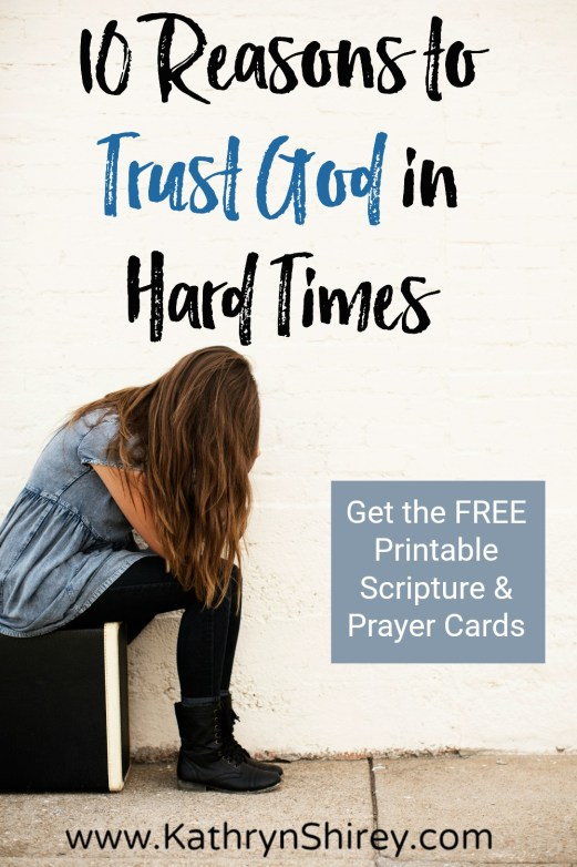 Top 10 Bible Verses For Trusting God In Difficult Times Prayer