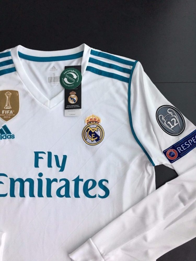 Buy Cheap Real Madrid Home Long Sleeve Jersey 17/18 ...