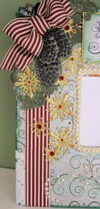 Heartfelt Creations altered Mirror 05