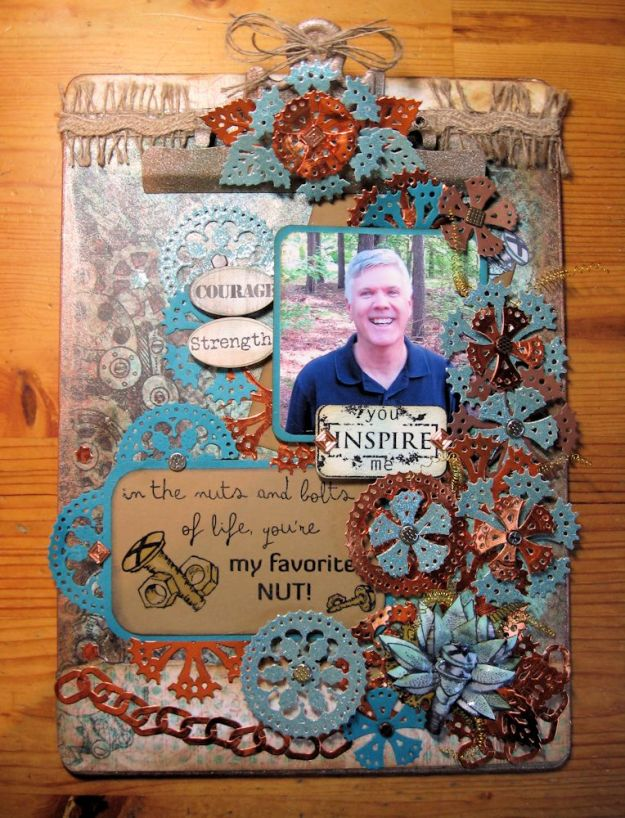 All Geared Up Altered Clipboard 01