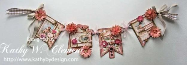 Kathy by Design Valentine Banner Tutorial