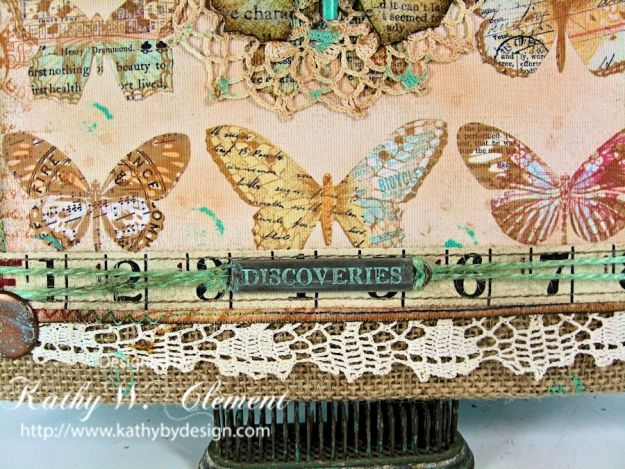 Crafty Secrets Butterfly Canvas 04