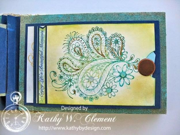 Peacock Paisley Album 18a