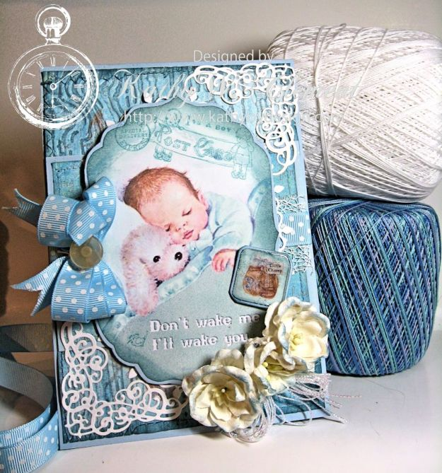 Precious Baby Boy Card/Kathy by Design