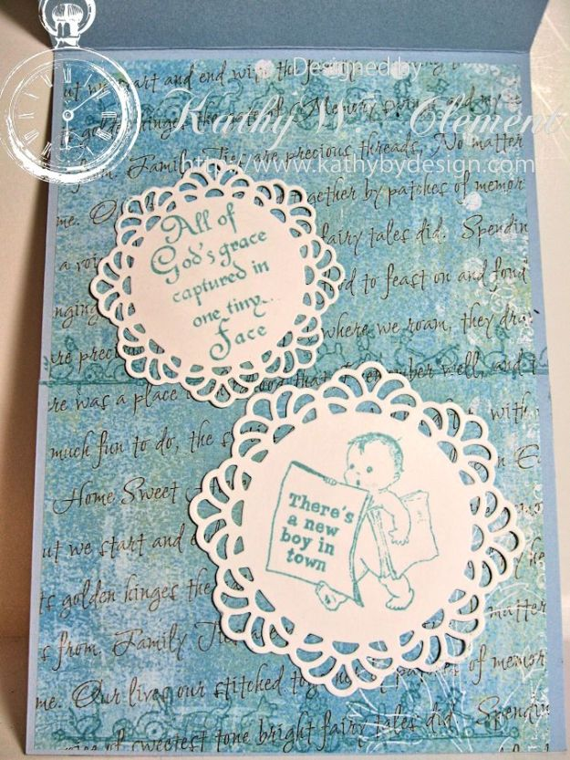 Crafty Secrets Baby Boy Card 04