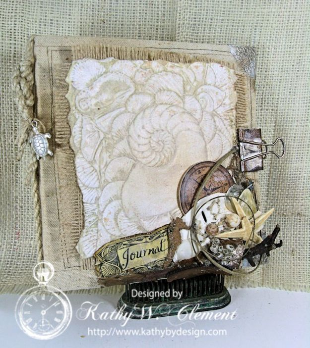"Maritime ""Sea Fever"" Journal/Kathy by Design"