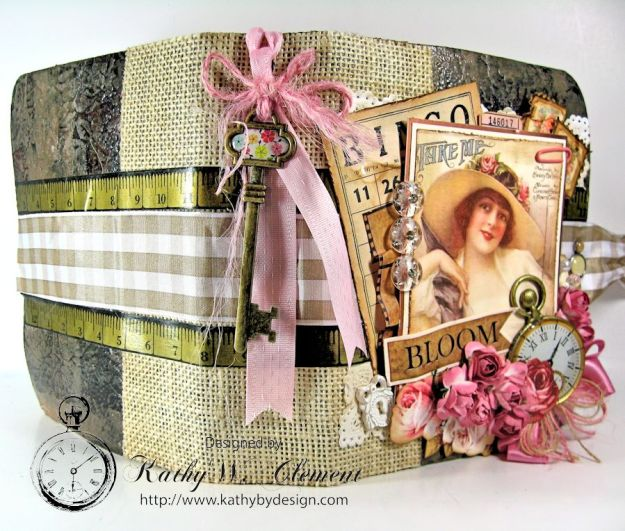 Everythings Coming Up Roses Mini Album Kathy Clement 05