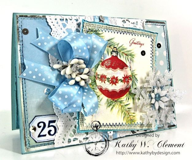 Blue Christmas Christmas Kit 02