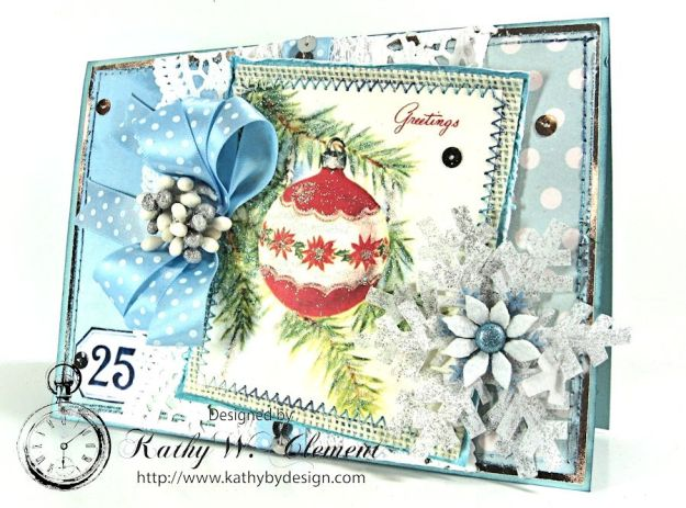 Blue Christmas Christmas Kit 03