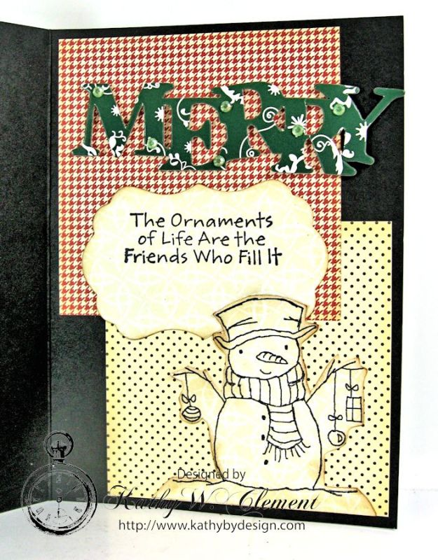 Christmas Creativity Kit Snowmen10