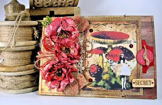 Pollys Paper Mushroom Fairies 01
