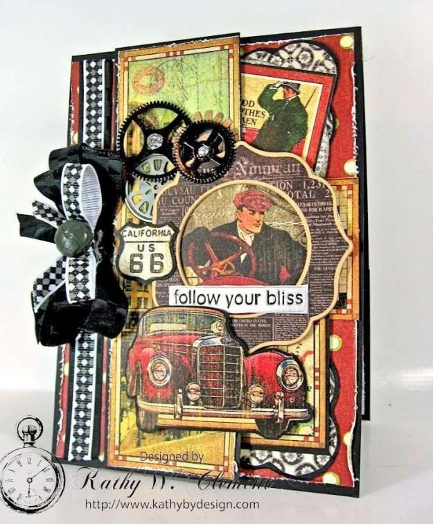 Kathy by Design/Times Nouveau Masculine Card