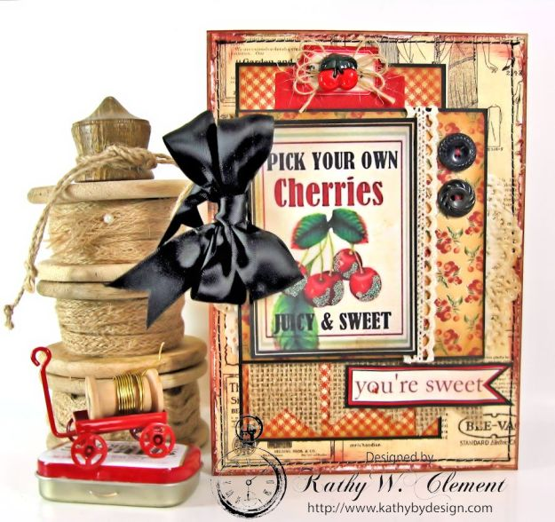 Kathy by Design/ Sweet Cherries 01a