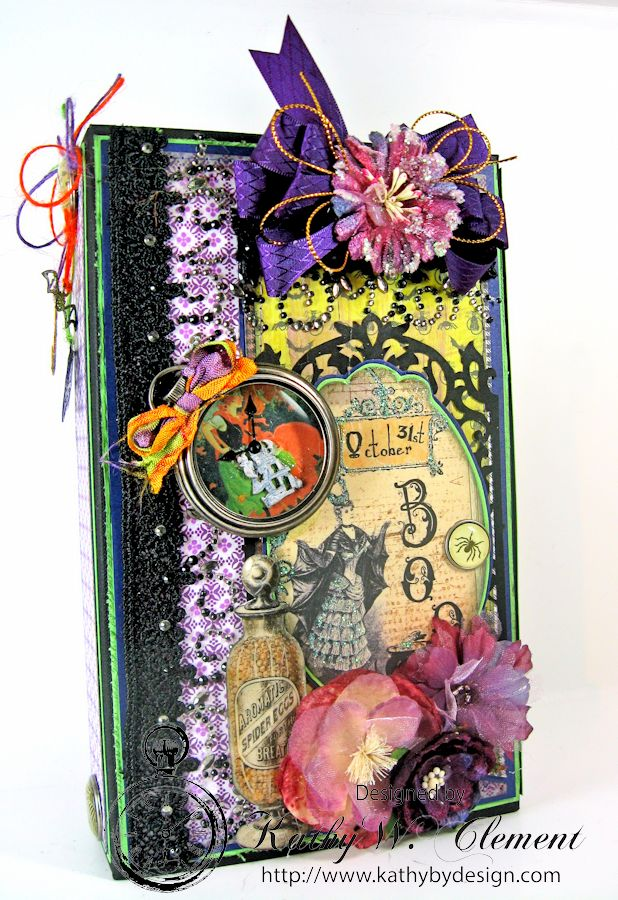 Crafty Secrets Purple and Green Halloween Album02