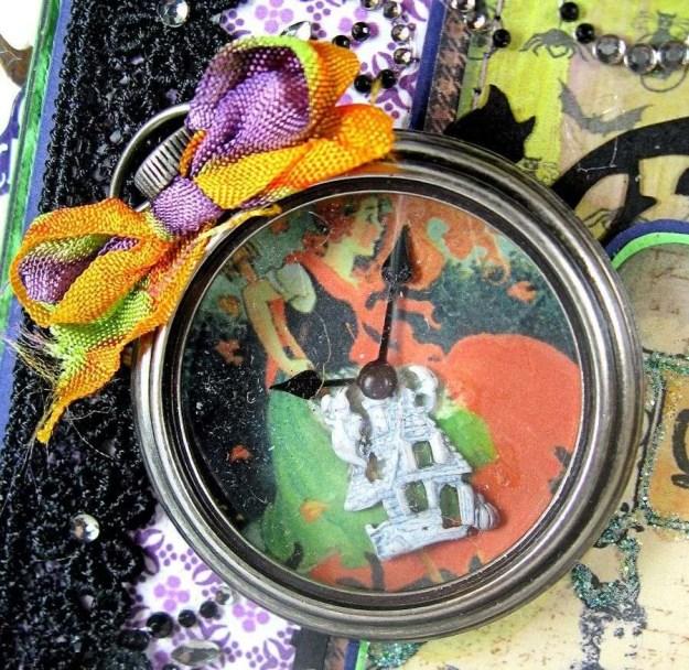 Crafty Secrets Purple and Green Halloween Album06