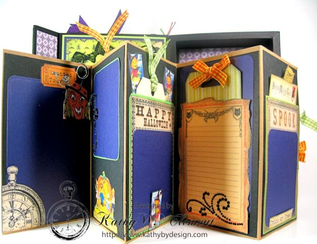 Crafty Secrets Purple and Green Halloween Album09