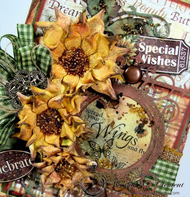 Kathy Clement/Classic Sunflower Birthday Card